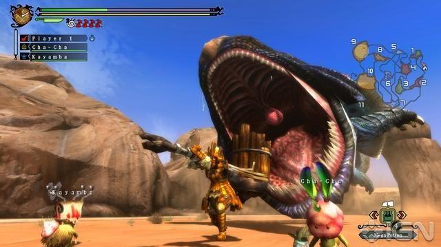 Monster Hunter 3 - DS 3D