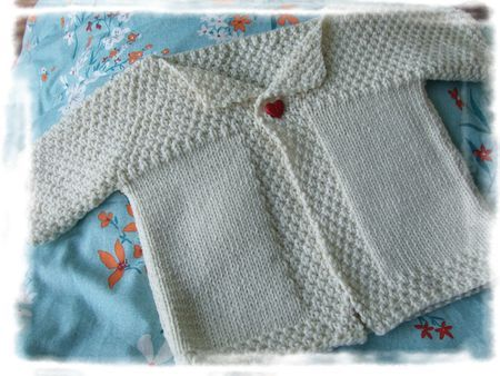 82 best images about tricot enfant on pinterest baby knitting drops design and baby cardigan - Point de ble tricot ...
