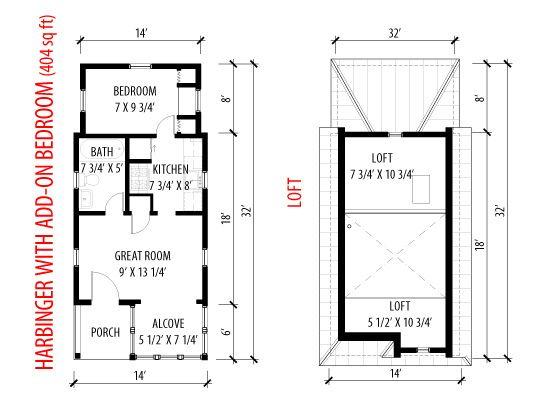 Bunkie Floor Plans Meze Blog