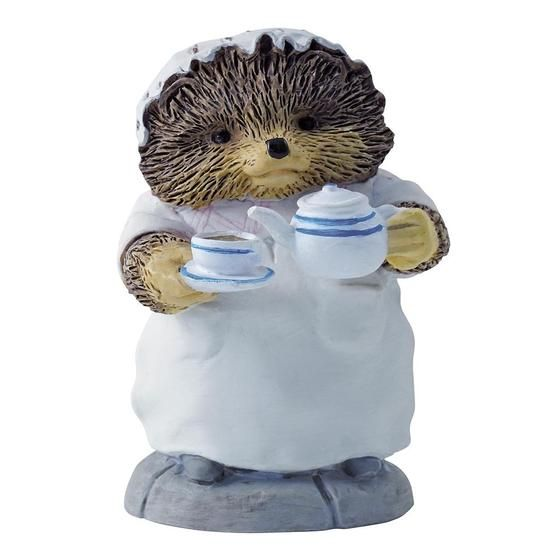 Beatrix Potter Mrs. Tiggy-Winkle Pouring Tea