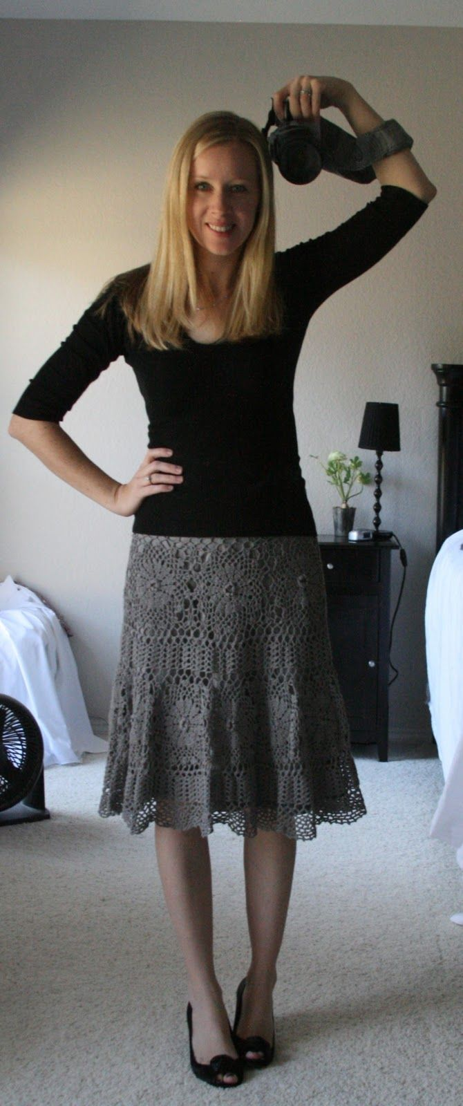 Crochet maxi skirt PATTERN, detailed TUTORIAL for every row + HQ charts…