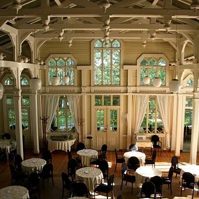 restaurant in Viikinsaari island, Tampere, Finland. http://www.hopealinja.fi/sivut/english/viikinsaari_island.htm
