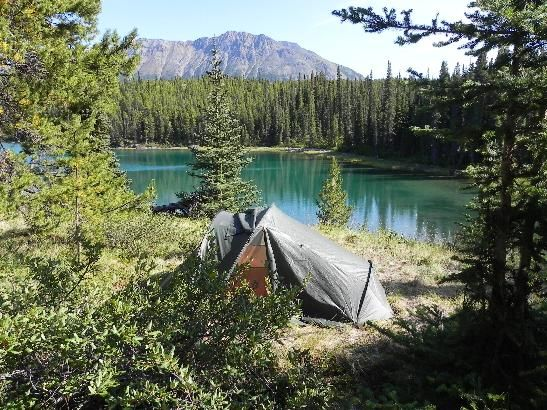 This is what it all is about .... wild camping.