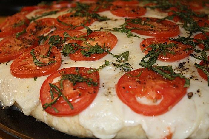 Caprese Foccacia Bread | Baking | Pinterest