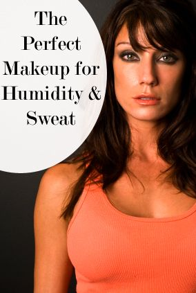 "Humidity and Sweat:  The Most Loyal Makeup |  Brief list of over-the-counter products (1 or 2 of each of the essential/key makeup items) that work best for hot & humid weather; for outdoor/physical activity (exercising, camping, boating, beach or amusement park outings, etc.); and/or if you're a gal who needs no particular reason many days to perspire more than ""average."""