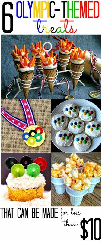 All+Cheap+Crafts:+6+Olympic+Themed+Treats                                                                                                                                                      More
