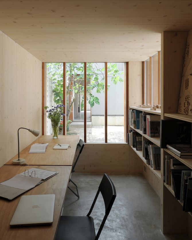 Hugh Strange Architects: The Strange House - Thisispaper Magazine #plywood
