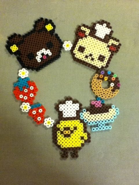 Rilakkuma perler beads by mi ☆ wa