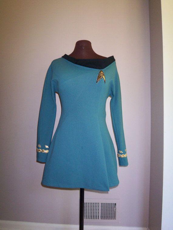 Star Trek Original Series Skant Dress Science by correenscdesigns
