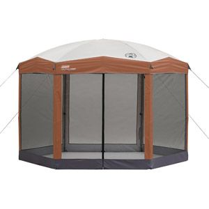 Coleman Back Home 12'x10' Instant Screened Canopy  $160.85 & we can use it in the backyard or for soccer and baseball games.  It comes with a wheeled carry bag.