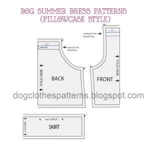 cão vestido padrões pré-visualização