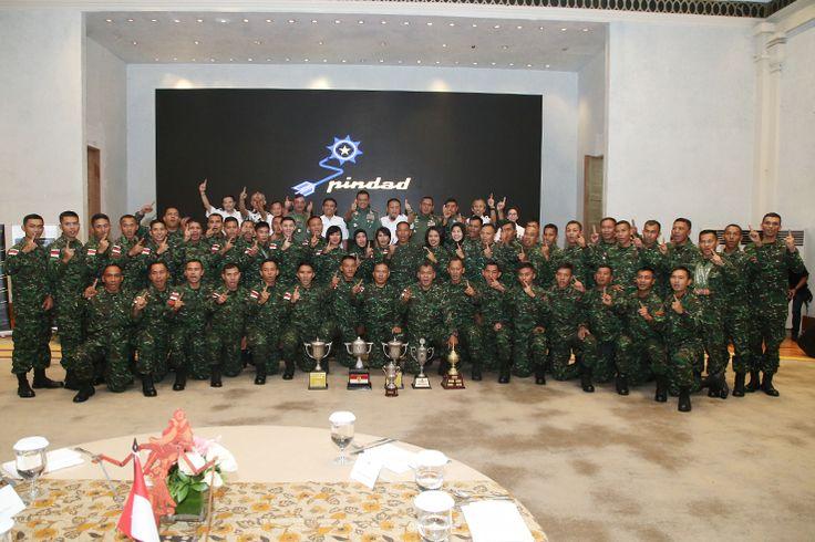 Prestasi Petembak TNI AD Gunakan Produk Bangsa Sendiri