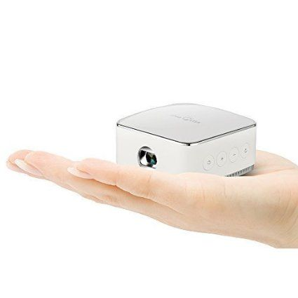 """HIGH PERFORMANCE CINEMATIC QUALITY! iDeaUSA Pico Projector, Pocket Projector - 120"""" Display, 240 Minutes Battery Life, LED Projector, Wireless Projector, Mini Portable Projector, Compatible with DLNA, Airplay Mirroring - Introduce what's new and future releases an updated daily"""