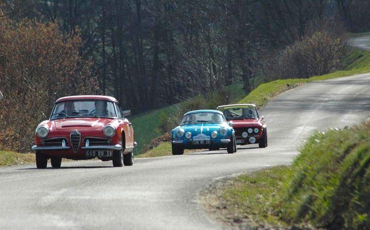 Le Rallye Charbonnières les Bains Classic 2017