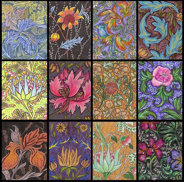 Art History 101: William Morris. A Must Have Designer - if you are to do this style justice! William Morris