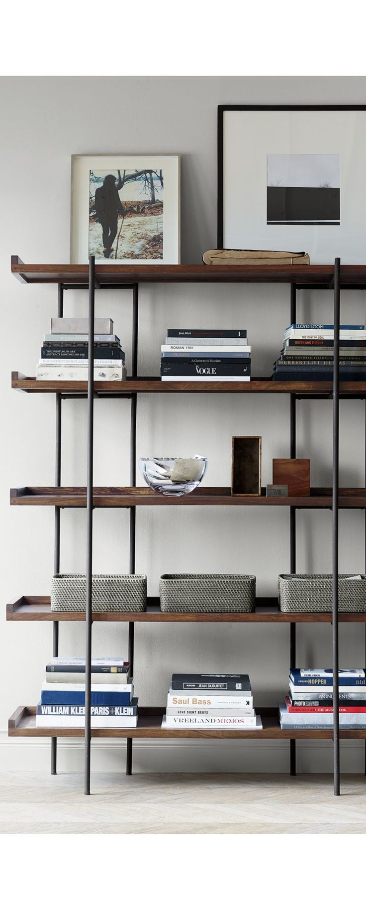Beckett 5-High Shelf | Crate and Barrel