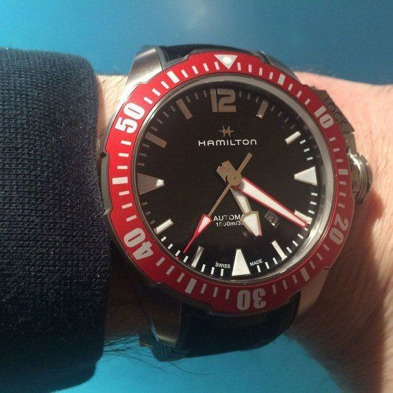 11 best military watches with nato straps images on for Hamilton dive watch