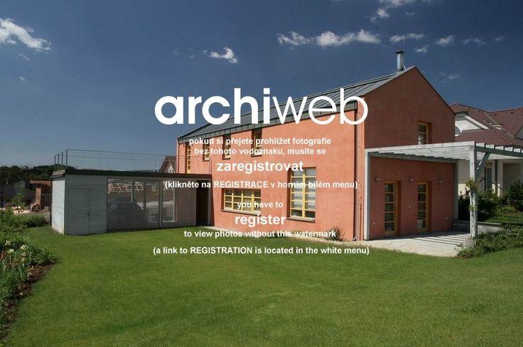 archiweb.cz - Rodinný dům ve středních Čechách