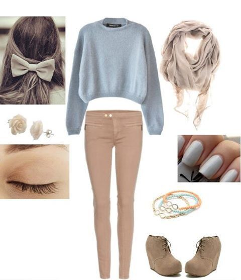 Inspiration ❥ Look : Winter & Autumn Outfits - Valentine