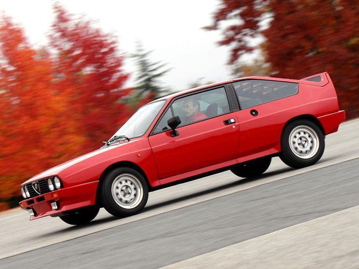 Alfa Romeo Alfasud Sprint 6C Prototype 2 1982 wallpaper