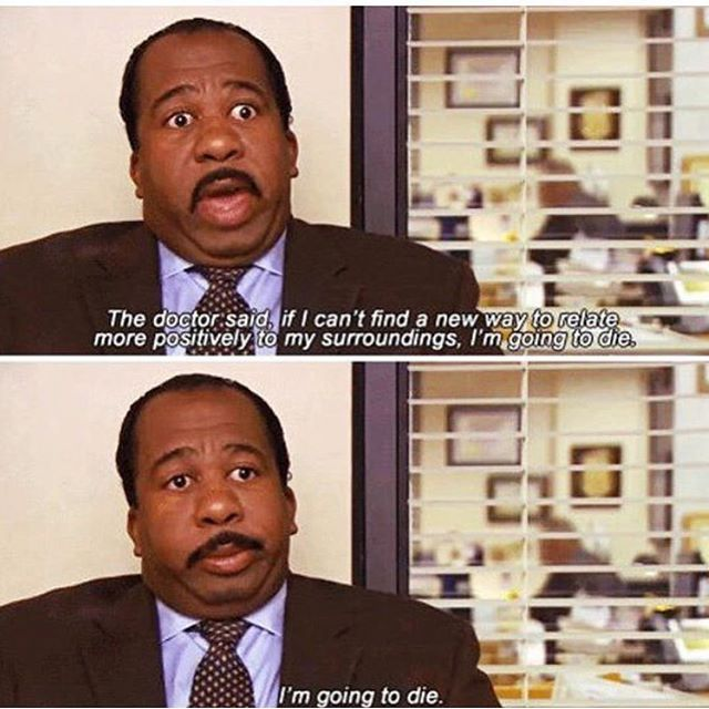 Me now that school has started 😂 #theoffice