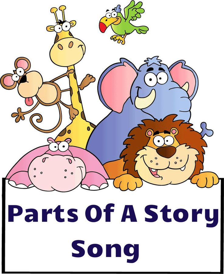 Fun and entertaining song to teach parts of as story. Free!