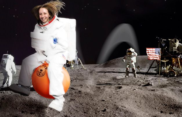 Fastest 100m on a space hopper - female - Speed - Explore Records - Guinness World Records