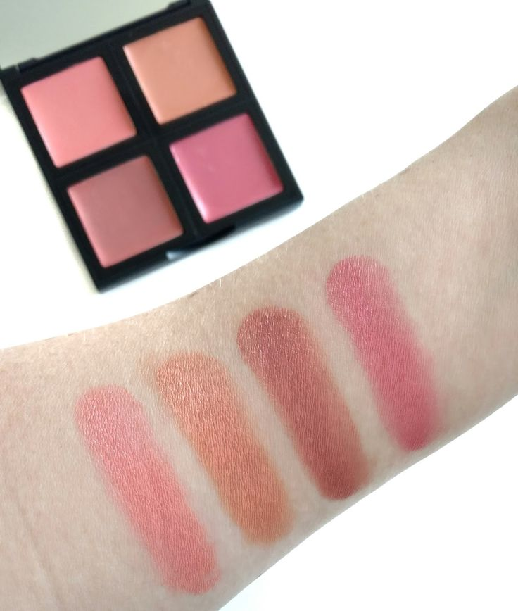 elf cream blush palette swatches