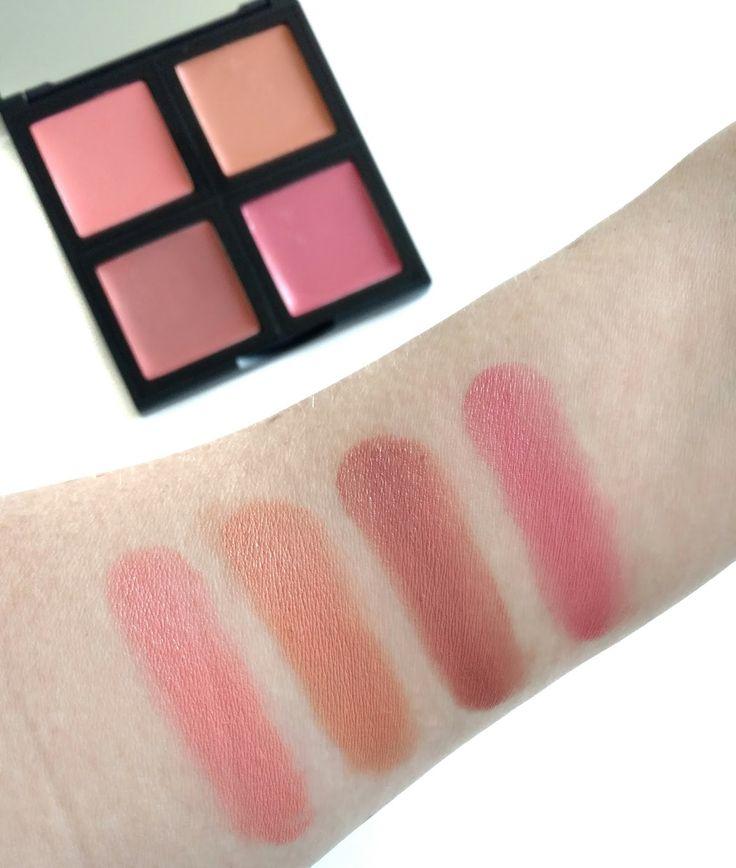 elf cream blush palette swatches