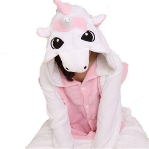 "Triline New Adult Kigurumi Animal Sleepsuit Pajamas Costume Cosplay Unicorn Onesie Pink Size M (63""-67"") Amour, http://www.amazon.co.uk/dp/B00C892QK8/ref=cm_sw_r_pi_dp_061Tsb0RWJJPX"