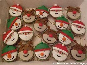Kerstcupcakes