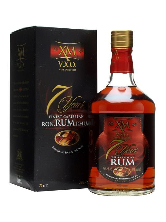 XM VXO Rum 7 Year Old : Buy Online - The Whisky Exchange