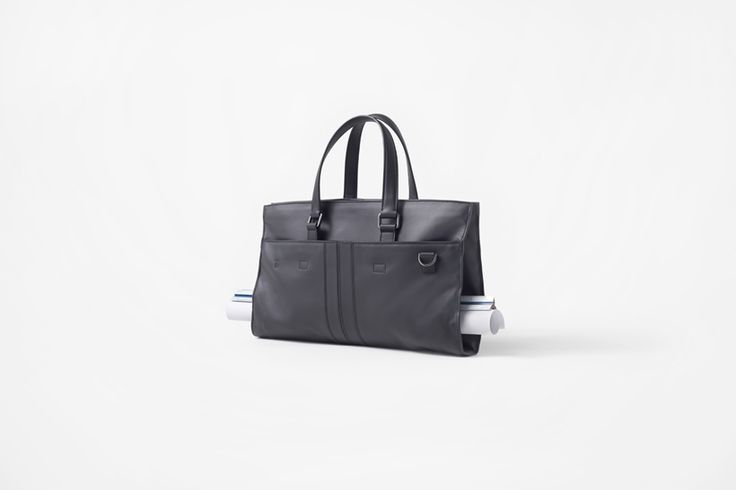 nendo Designs Leather Bag for Architects
