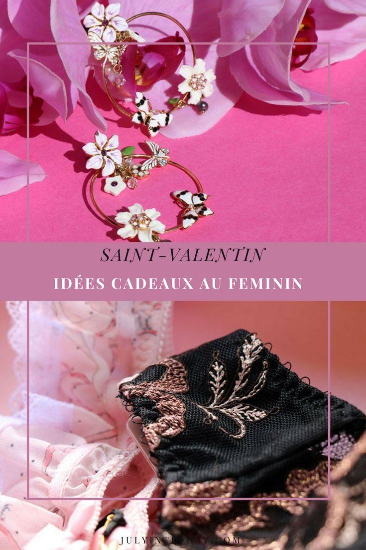 Des idées de cadeaux féminins pour la Saint-Valentin – July In The Sky