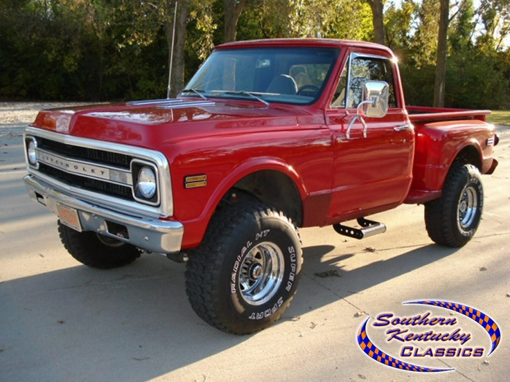 1969 c10 stepside 4x4 chevy c10 pinterest 4x4 and chevy. Black Bedroom Furniture Sets. Home Design Ideas