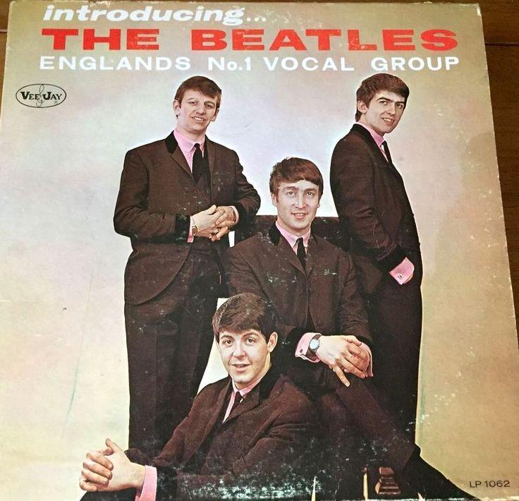 BEATLES - INTRODUCING THE BEATLES - VINYL LP RECORD FIRST PRESSING ORIGINAL MONO #Beatles #Music #Album