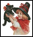 Artecy Cross Stitch. Halloween Cross Stitch Patterns to print online.