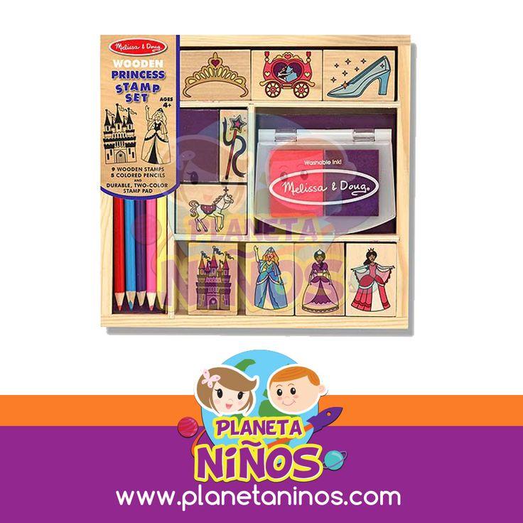 Princess Stamp Set