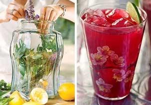 ... tea & hibiscus tea with vodka & citrus (© Janis Nicolay; Jim Franco