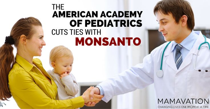 The American Academy of Pediatrics Cuts Ties with Monsanto - Mamavation http://www.mamavation.com/2015/09/the-american-academy-of-pediatrics-cuts-ties-with-monsanto.html #Monsanto #GMOs #conflictsofinterest