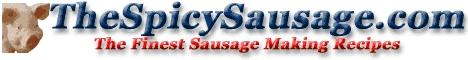 Homemade spicy pork sausage