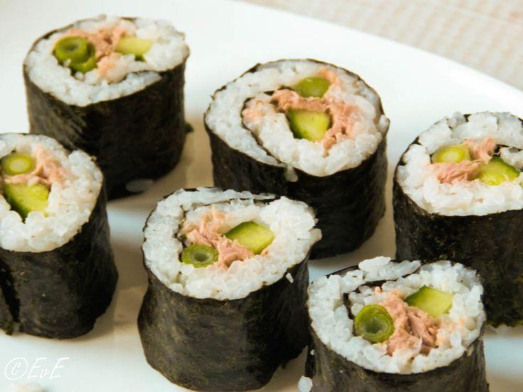 sushi tonijn