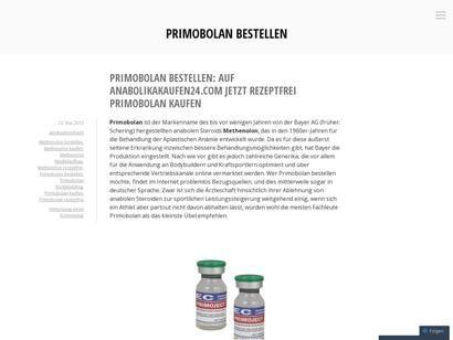 Primobolan bestellen < Annika Ahrenheim - Keeeb
