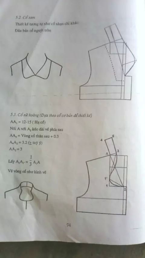 Collar drafting