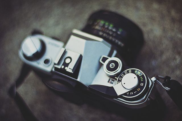 Canon AE-1 by marcojoerger on Flickr.
