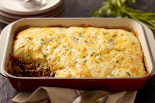 My favorite new casserole :) Perfect for a chilly fall night.