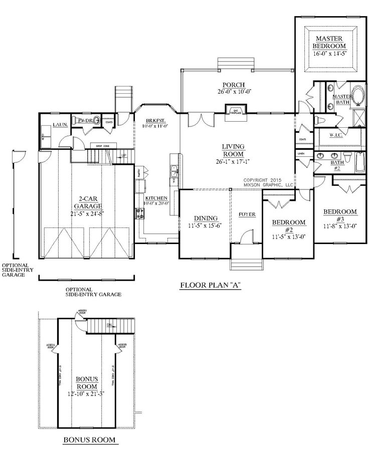 House Plan 2248 A The Britton A Floor Plan Classical One