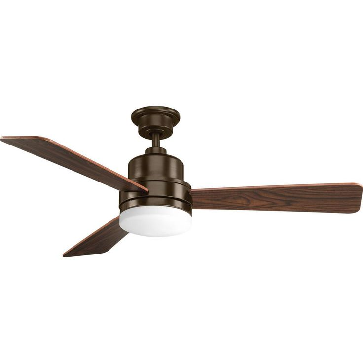 Lovely Progress Lighting Trevina Collection Antique Bronze in Ceiling Fan with Light Kit