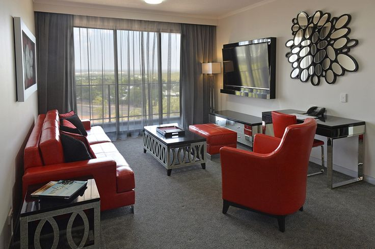 An Executive Business Suite at Rydges Palmerston Darwin.