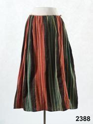 Kjol från Offerdal, sent 1700-tal